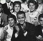 Dick Clark and the 'American Bandstand' back in the day.
