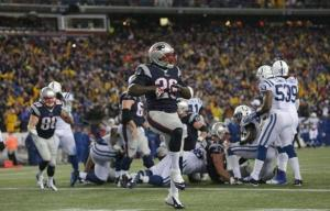New England Patriots defeat the Indianapolis Colts to move into the AFC Championship Game.