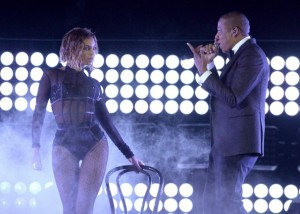 Beyonce & jay z opened the Grammy Awards on CBS.