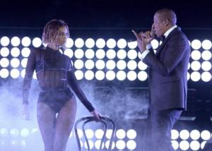 Beyonce & jay z opened the Grammy Awards on CBS.