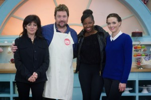 Great Britain Bake Off Sport Relief Topped All In The UK on Wednesday.