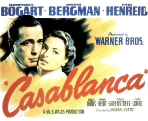 The 1942 classic, 'Casablanca' will be back in the theaters.