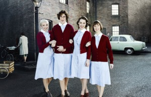 BBC One's 'Call the Midwife' and captured the #1 spot on Sunday.