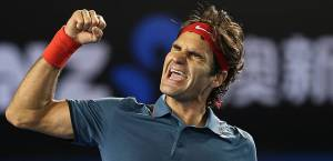 Roger Federer Defeated Andy Murray in the Semifinals on Day #11 in the Australian Open.