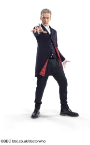 Here it is! Doctor Who's New Costume.
