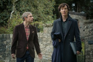 Sherlock 'His Last Vow' Won On Sunday on BBC One.