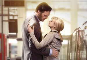 David Morrissey and Sheridan Smith in 'The 7.39' c BBC