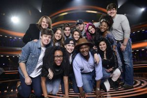 On Wednesday, the #1 program in the U.S. was 'American Idol' featuring the top 13 on FOX.