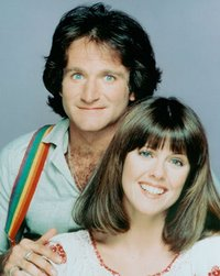 Robin Williams & Pam Dawber star in 'Mork & Mindy'