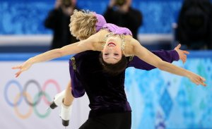The First Americans ever to win Gold in Ice Dancing in the Winter Olympics. Davis & White Brought Home The Gold on NBC.