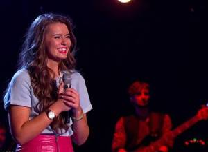 Rachael O'Connor (16) from Derry wowed everyone on Saturday on BBC One's 'The Voice UK', the #1 program on the evening.
