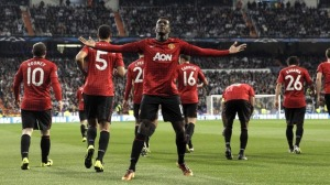 Manchester United was defeated on Tuesday Night. The match was seen on ITV.