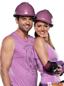 Nine's 'The Block's 'Fans v Faves' showing fan's team Steve and Chantelle was #1 in Australia on Thursday.