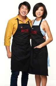 'My Kitchen Rules' Topped The Charts in Australia on Wednesday. Uel & Shannelle shared a sweet tooth.