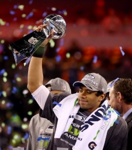 Two years ago, he was the Quarterback of the Big Ten Champion University of Wisconsin Badgers. Today, he is the QB of the World Champion Seattle Seahawks.