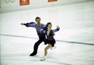 An Olympic moment to remember. On this date, Torvill & Dean skate to 'Bolero' in Sarajevo.