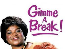 For six seasond (1981-87) 'Gimme A Break' ran on  NBC and starred Nell Carter.