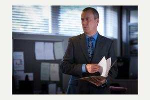 Stephen Tompkinson as DCI Banks, the top non-soap in the UK on Monday.