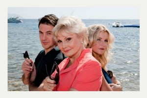 Helen Skelton, Angela Rippon and Joe Crowley star in 'Holiday Hit Squad' which was #1 in the UK on Thursday on BBC One. Credit: BBC/Twofour Read more: http://www.scunthorpetelegraph.co.uk/Holiday-Hit-Squad-BBC-tonight-Angela-Rippon-Helen/story-20805044-detail/story.html#ixzz2vx7HvmP1