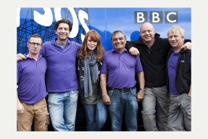 Nick Knowles and the team from 'DIY SOS' #1 on BBC One on Wednesday.