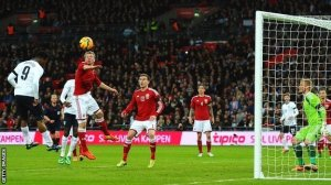 Daniel Sturridge scored on header as England was victorious over Denmark. Telecast on ITV, it was the UK's #1 program on Wednesday.