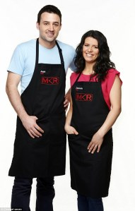 Seven's 'My Kitchen Rules' was #1 again on Wednesday but...Danielle Najda said she felt frumpy on the cooking show thanks to the wardrobe department.