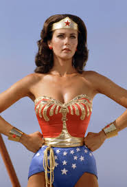 Lynda Carter as 'Wonder Woman'