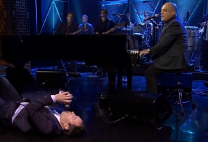Billy Joel on 'The Tonight Show with Jimmy Fallon' on Thursday.