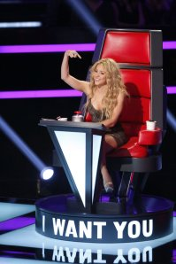 NBC's 'The Voice' was #1 on Monday.
