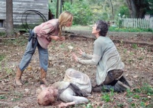 AMC's 'The Walking Dead' was the #1 program on all of television Sunday night beating CBS' '60 Minutes' for top honors.