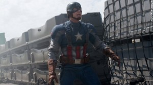 For the third week in a row, 'Captain America' was #1 at the box office.