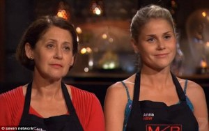 Shocking! Country girls Cathy and Anna Lisle left 'My Kitchen Rules' in a shock elimination on Monday night on Seven.