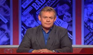 BBC One's 'HIGNFY' with Martin Clunes was #1 in the UK on Friday.