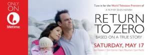 Tonight. World Premiere on Lifetime of Sean Hanish's 'Return To Zero' @ 8Pe/7Pc