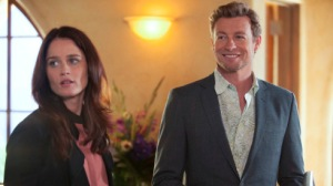 Simon Baker stars in 'The Mentalist' on CBS.