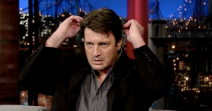 Nathan Fillion of 'Castle' on CBS' 'Late Show with David Letterman' finished #1 in Late Night on Friday.