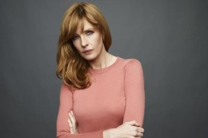 This is Kelly Reilly. She is a star to be reckoned with.