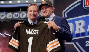 Although not picked until the 22nd choice, Johnny Manziel was the driving force behind the huge NFL Draft audience on Thursday.