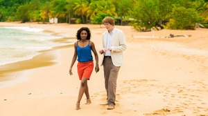 ABC1's 'Death In Paradise' #1 in Australia on Saturday.