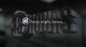 CBS was the #1 network on Saturday as '48 Hours' was the #1 program.