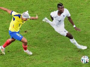 BBC One with '2014 World Cup' action between France and Ecuador was #1 in the UK on Wednesday.