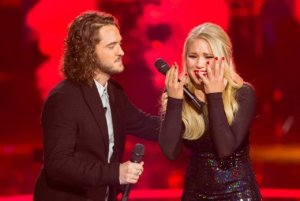 Nine dominated Monday evening as 'The Voice Australia' held its final as 18 year old Anja Nissen has won 'The Voice' for 2014.