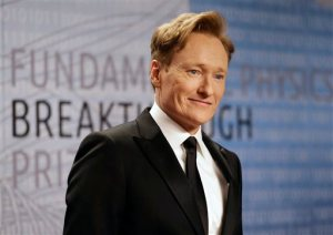 Conan a hit in China...over 3 million of them to be exact. Photo Credit: AP Photo/Ben Margot