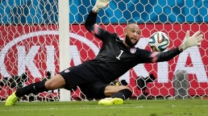 ESPN and the '2014 World Cup' match with the USA v Belgium was #1 on Tuesday.
