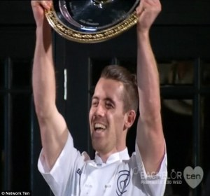 And the winner is....Network Ten and 'MasterChef' as both clearly were #1 on Monday in Australia.
