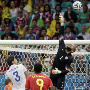 BBC One with the '2014 World Cup' match between Belgium and the U.S. was #1 in the UK on Tuesday.