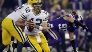 CBS #1 on Thursday as Packers Blast Vikings on 'Thursday Night Football.