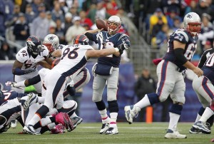 CBS Wins On Sunday. Overrun of Patriots Victory Overwhelms.