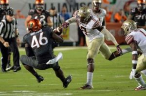 ABC #1 on Saturday with Florida State vs Miami top program.