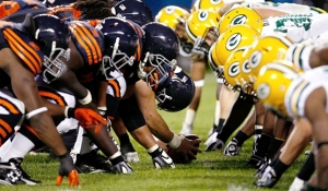 NBC Was #1 on Sunday with the Packers mauling of  Da Bears on 'Sunday Night Football'